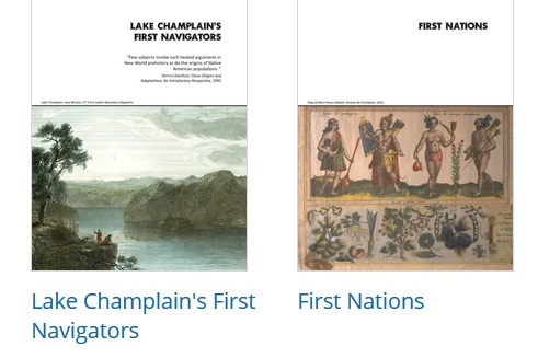 Navigating the Champlain Valley 1609: Quadricentennial Curriculum